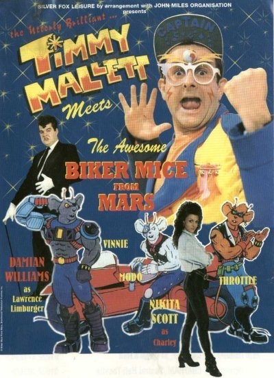 The Biker Mice From Mars Show Poster