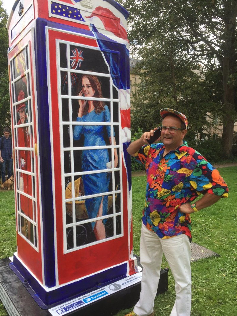 Timmy's Ring A Royal phone box