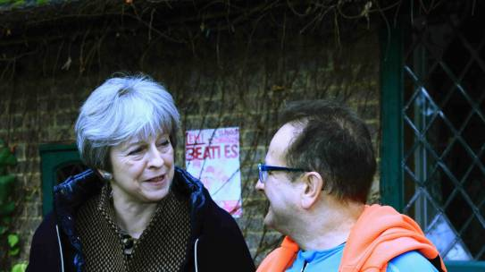 Theresa and Timmy talk cycling, painting and pilgrimage.
