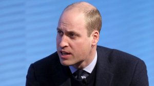 Prince William supporting me