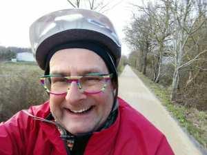 Brilliant new cycle path