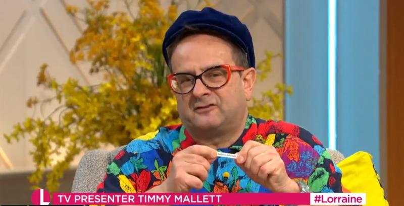 Timmy is interviewed on ITV's Lorraine